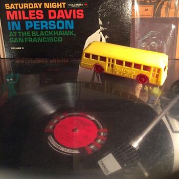 Miles Davis recorded at the Blackhawk Saturday night  1961  - Records