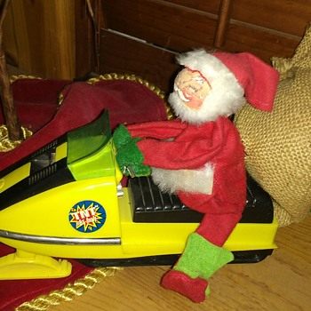 TNT Ski Bob Snowmobile - Toys