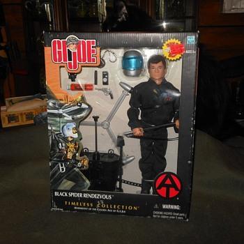 GI Joe Black Spider Rendevous GI Joe Timeless Edition 2002 - Toys