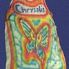Vintage 1970's CHRYSALIS RECORDS Tie-Dye Butterfly tank top shirt from a former record executive