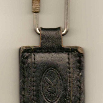 Playboy Leather Keyfob / Ring