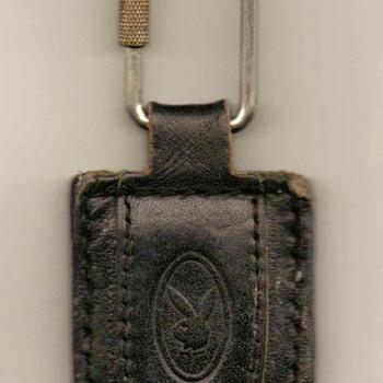 Playboy Leather Keyfob / Ring