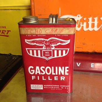 Gasoline Filler Can - Petroliana