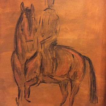 Horse painting - Fine Art