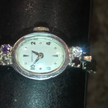 Ladies Hamilton wristwatch.  - Wristwatches