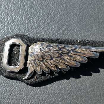 antique military aviation wing medal pin ? - Military and Wartime