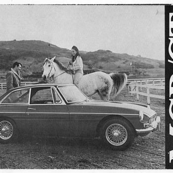 1968 - MGB GT Mark II Sales Brochure