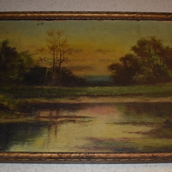 American Tonalist Painting from the late 19th Century - Fine Art