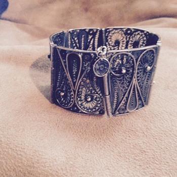 My antique panel bracelet - Fine Jewelry