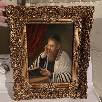 Jewish Rabbi Painting  - Fine Art