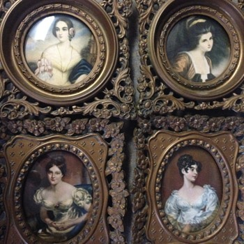 Ladies of A Cameo Creation  - Fine Art