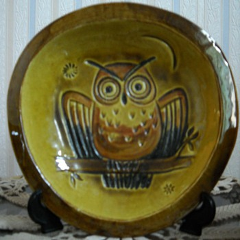 Mid Century Modern Owls