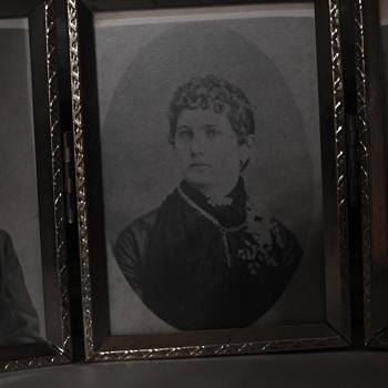 Great-grandmother's picture with the Victorian necklace - Photographs