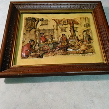 ANTON PIECK SHADOW BOX - Fine Art