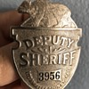Vintage Los Angeles County Cal Police Badge