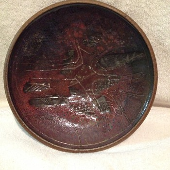 Rising Fawn Plate - Pottery