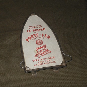 "Le ""Posfer"" Pore-Fer Ironing Trivet - Kitchen"
