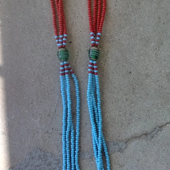 Southwestern/Native American? Coral and Turquoise? - Costume Jewelry
