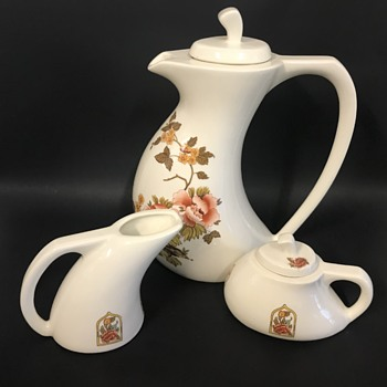 Mid Century Tea Set - China and Dinnerware