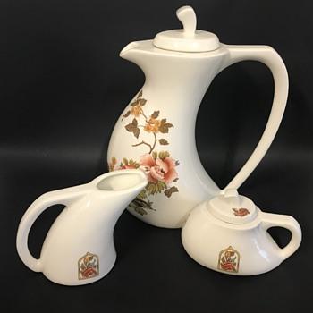 Mid Century Tea Set - China and Dinnerware