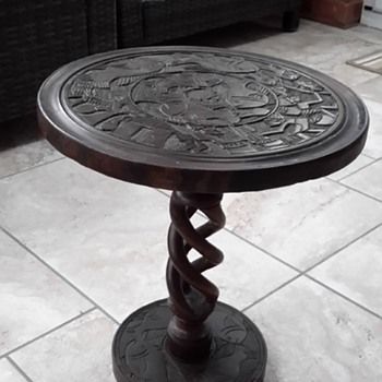 Old African Art Table - Furniture