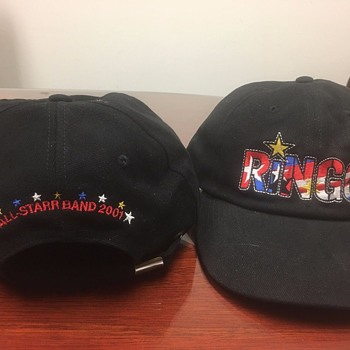 Ringo's personally owned tour hat-2001