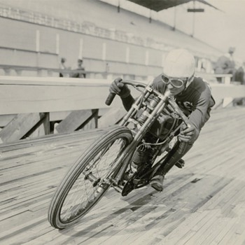 American Motorcycle Motordrome & Board Track Racing  - Photographs