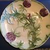 Majolica Artichoke/Purple Thistle Plate