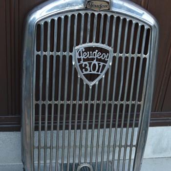 peugeot 301 1930 radiator grille - Classic Cars
