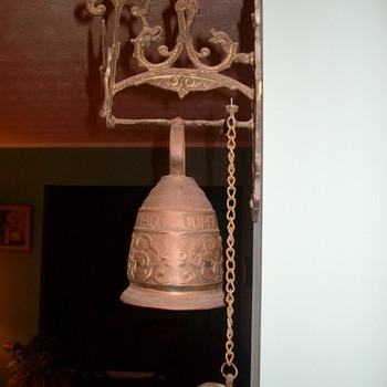 "Very Cool ""old"" Brass Bell... From the 1930's - Tools and Hardware"