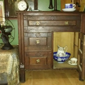 Antique Dry Sink - Furniture