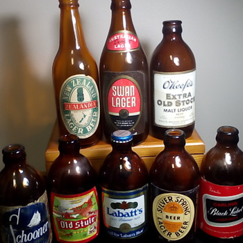 A Few Beer Bottles - Bottles