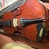 Some sort of mojo? rattlesnake tail rattle inside this 40$ garage sale antique violin!?!