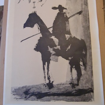 Poster of a Horse Rider - Posters and Prints