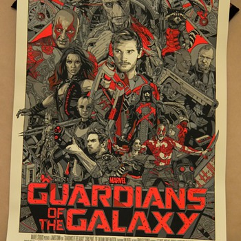 Guardians of the Galaxy, Variant, by Tyler Stout - Posters and Prints