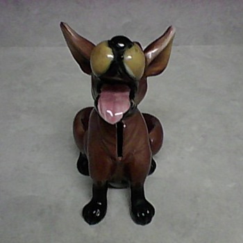 KREISS LAUGHING DOG BANK - Animals