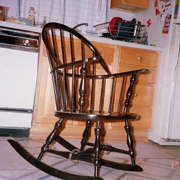 Nana's favorite rocking chair