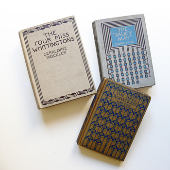 Book covers designed by Charles R. Mackintosh (Blackie & Son, Glasgow) - Books
