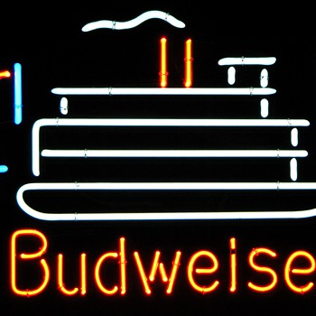 Budweiser Paddle Boat Neon - Signs