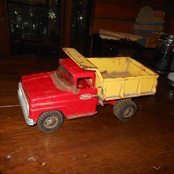 Tonka Dump Trunk Pressed Steel 1960s - Model Cars