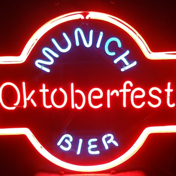MUNICH OKTOBERFEST BIER Neon sign - Signs