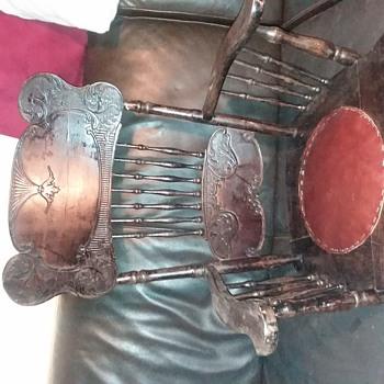 Cochran Chair Co Rocking Chair pre 1900 - Furniture