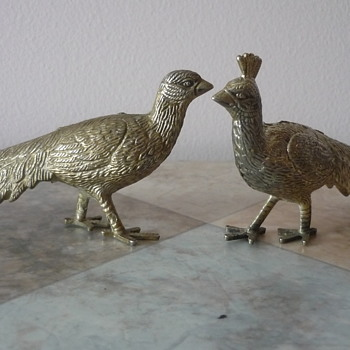 Brass Pheasants - Animals