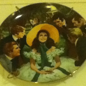"""Gone With The Wind"" Plate"