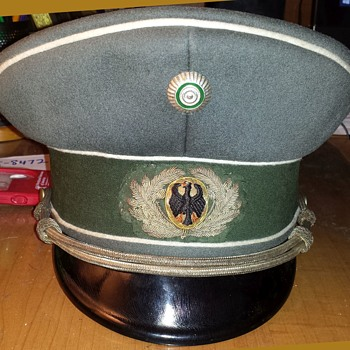 Reichswehr Saxon Infantry Officers cap - Military and Wartime