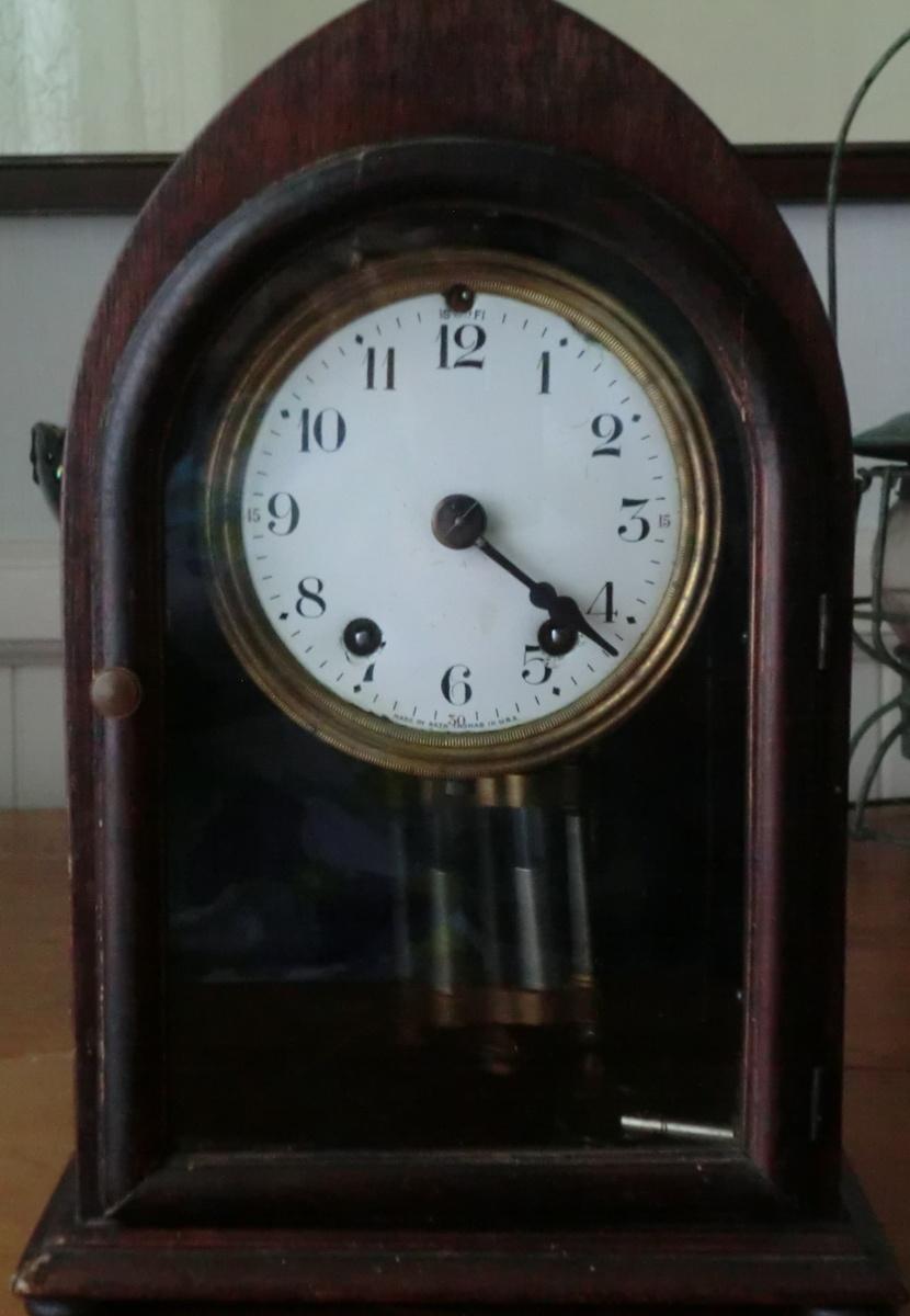 Seth Thomas Mantle Clock half hour chime   Collectors Weekly