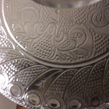 Beautiful Old Cake Plate - Glassware