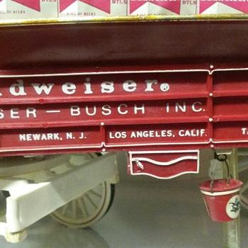 Budweiser hanging carousel