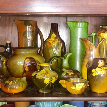 Assortment of Rookwood Pottery Vases from Collectors House - Pottery
