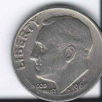 Error Dime 60's era - US Coins